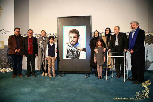 پوستر سی و پنجمین جشنواره فیلم فجر با طرحی از علی حاتمی رونمایی شد